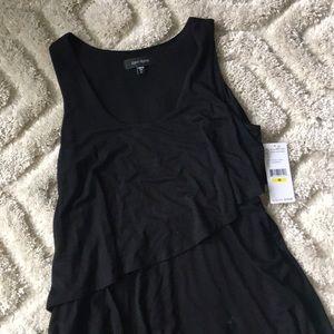 Karen Kane Dresses - Asymmetrical tiered ruffle dress
